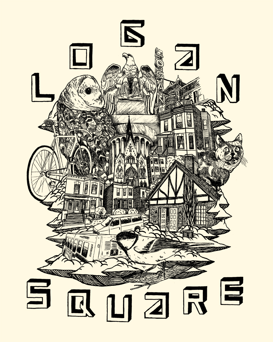 """Logan Square"" by Ian Ferguson"