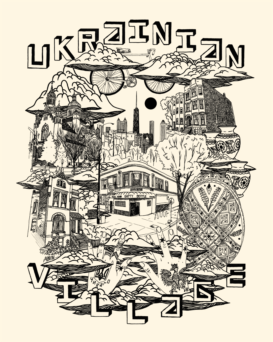 """Ukrainian Village"" by Ian Ferguson"