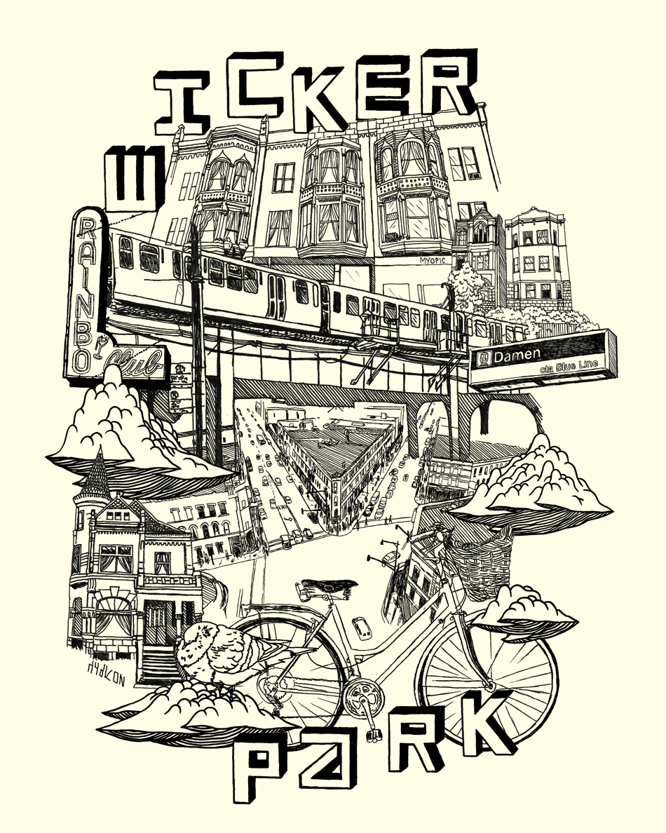 """Wicker Park"" by Ian Ferguson"