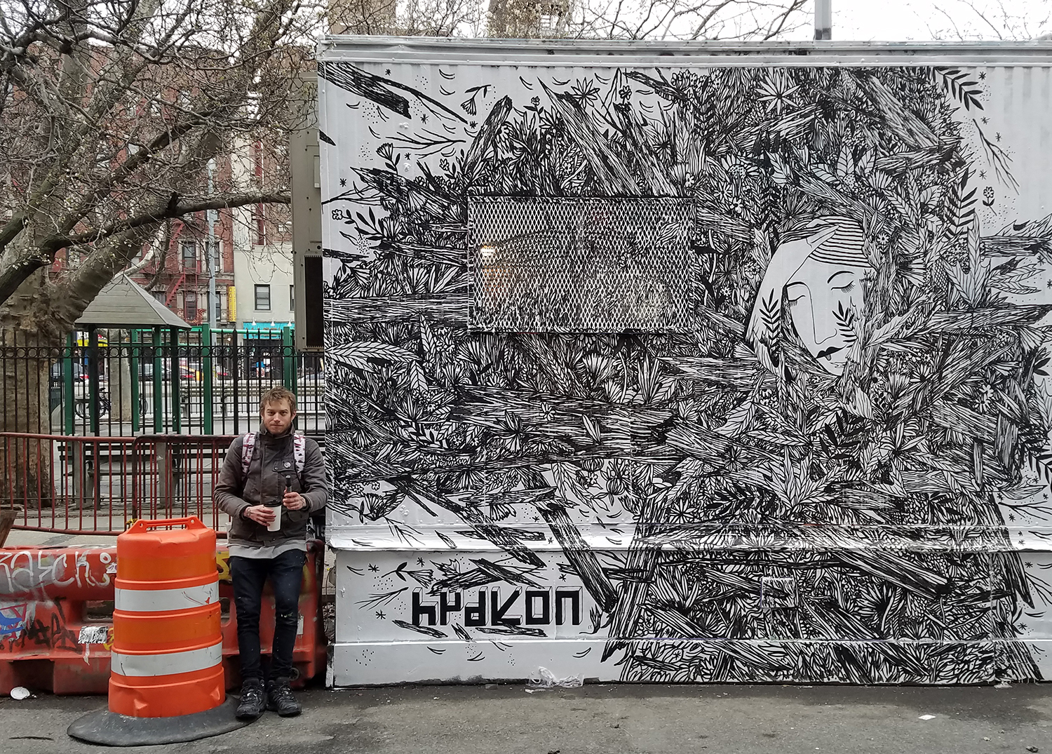 East village mural nyc hydeon art nyc for Mural village